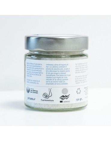 Sea Salt Glass jar 130 gr.